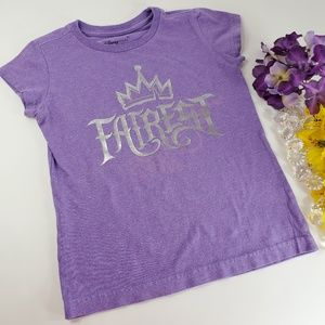 4/$25 Disney Purple Fairest Short Sleeved T-Shirt